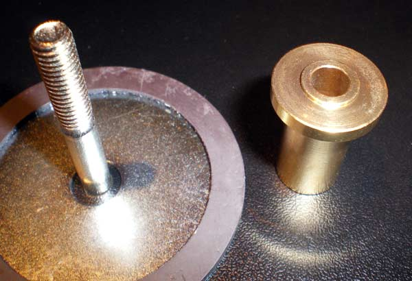 Magnetic Disc and Brass Bush