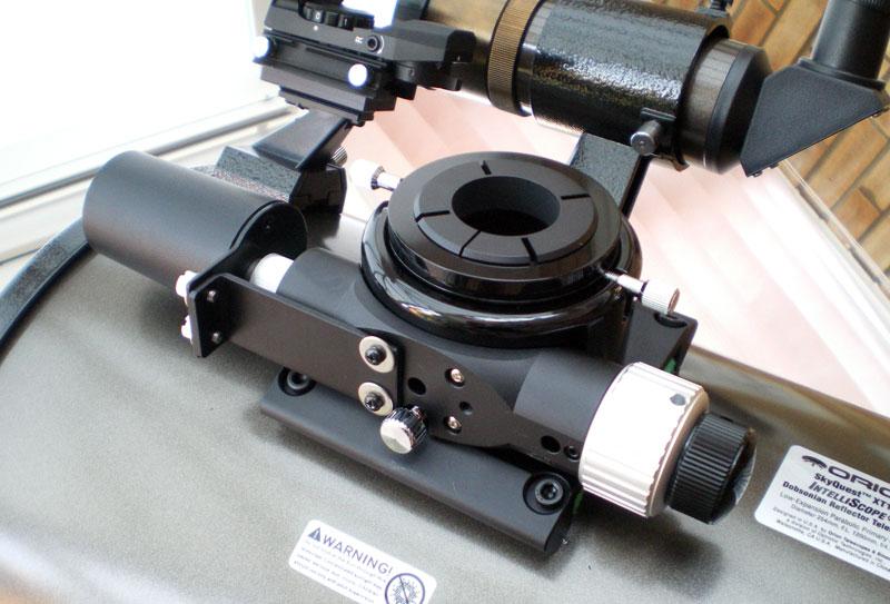 Orion Dual-Speed Low-Profile Crayford Focuser plus AccuFocus Motorised Focuser