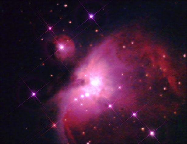 M42 Orion Nebula taken with SPC900NC